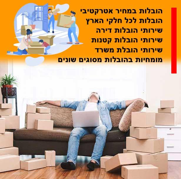 עלות מעבר בין דירות בעיר תל אביב, התמחור שלנו