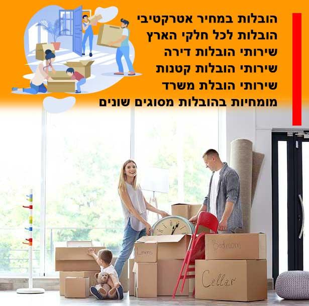 מה מחיר העברת בית בעיר כסראסמיע, התעריף שלנו